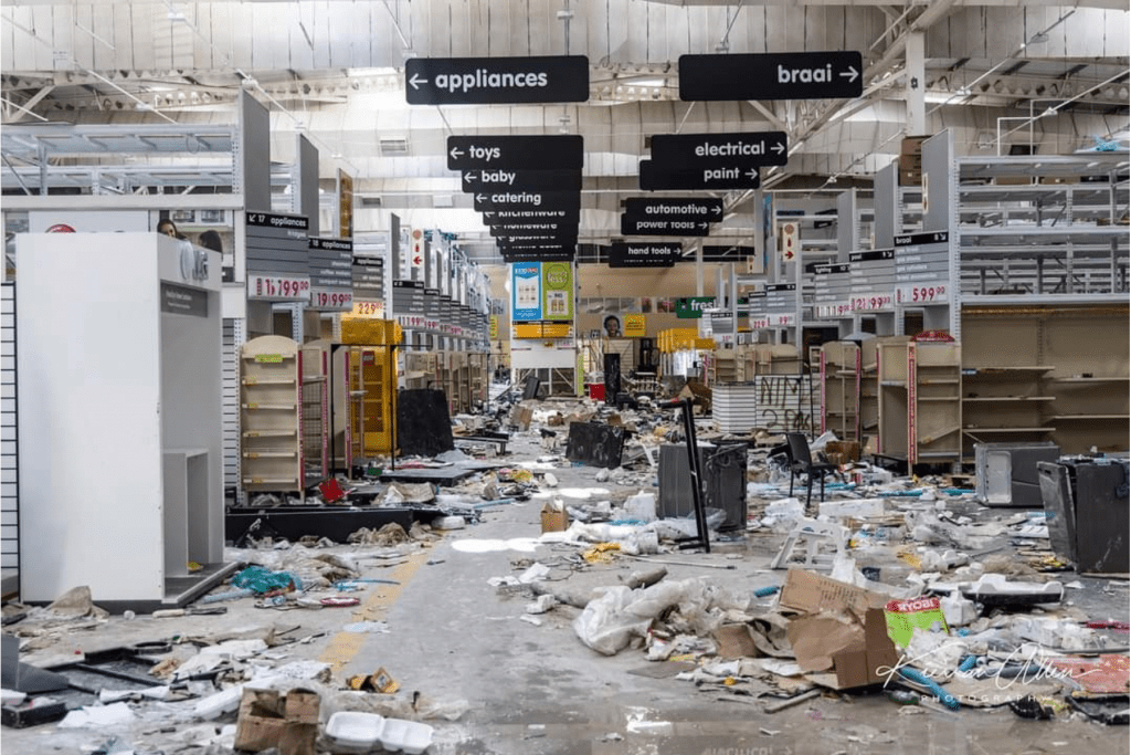 Looting in South Africa
